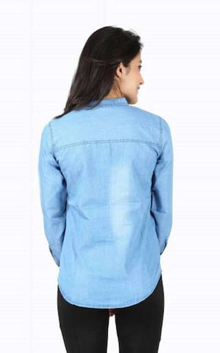 Women ENTERPRSES Denim ZA Shirts Casual w5pYfxq