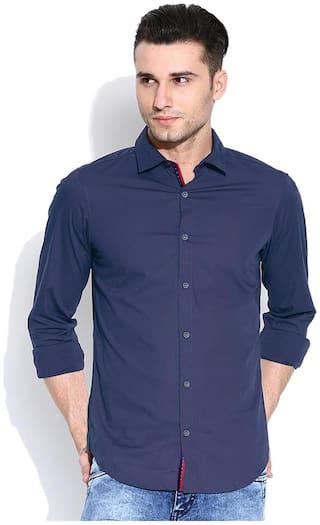 Zavlin Men Slim fit Casual shirt - Blue