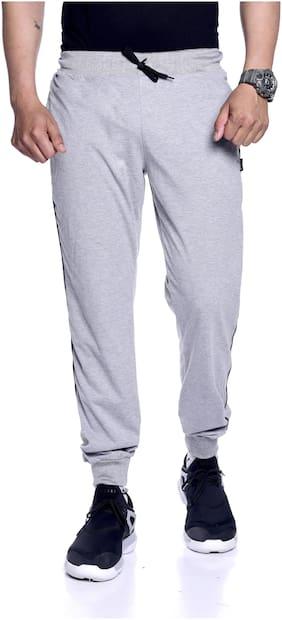 Zeffit Men Grey Solid Regular fit Joggers