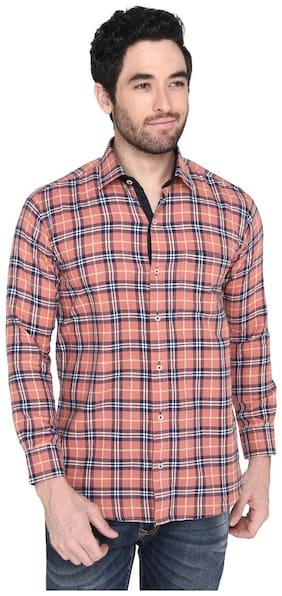 Zido Men Multi Solid Regular Fit Casual Shirt