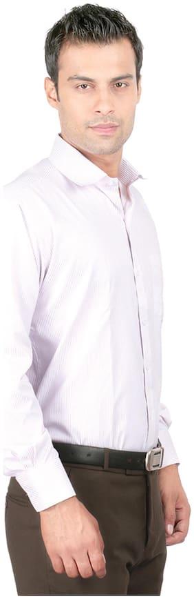 Zido Men Slim fit Formal Shirt - Purple
