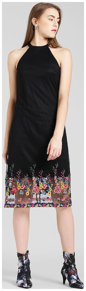 Women Embroidered Dress