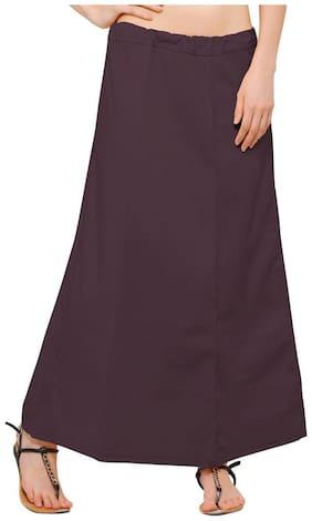 Ziya Brown Pure Cotton Petticoat