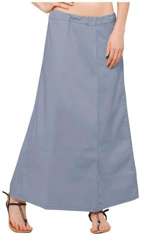 Ziya Grey Pure Cotton Petticoat