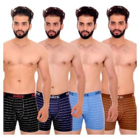 Men Cotton Striped Underwear ,Pack Of 4