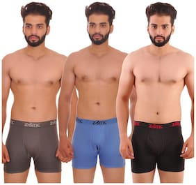 Men Cotton Solid Underwear ,Pack Of 3