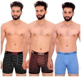 Men Cotton Striped Underwear ,Pack Of 3