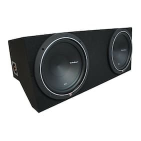 "05-15 Ford Mustang Coupe Rockford Punch P1S410 Dual 10"" Custom Sub Box New 2 Ohm"