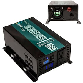 12V DC to 120V AC 60HZ 800W Pure Sine Wave Car Power Inverter