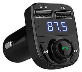 2AMP with 4.1 Car Bluetooth Device with Car Charger MP3 Player Transmitter FM Transmitter