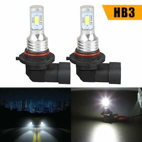 2X 80W 9005 HB3 LED Headlight Bulbs Kit High Beam 4000LM 6000K White High Power