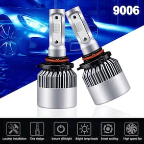 2x 9006 HB4 LED Headlight Conversion Kit COB Bulbs 1500W 225000LM 12000K Blue US