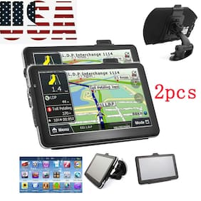 2xMini HD Touch Screen CAR TRUCK 4GB GPS Navigation Function Music/Movie Player