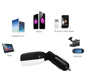 3.4 Amp Dual USB Intelligent Chip Super Fast Plug Car Charger with LED Display and Low Voltage Alarm #6