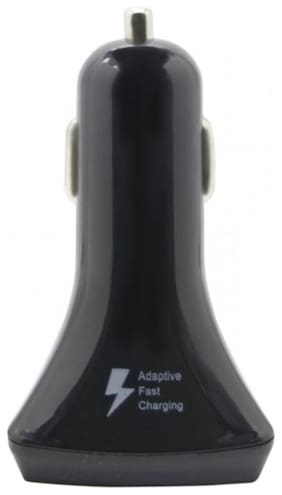 3-Port Fast Car Charger 4.2A - Black
