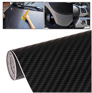 30.48 cm (12 Inch)x60.96 cm (24 Inch) 3d black carbonn vinly for car accessories car wrap for car sticker