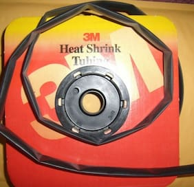 "3M 1/2"" Heat Shrink Tubing per 2' FT FP301 2:1 Ratio Car Audio Alarm Install New"