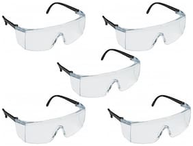 3M 1709IN Hard Coated Polycarbonate Clear Lens Safety Goggles (Pack of 5)