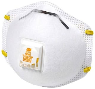 3m Valve With Mask Particulate Respirator Of 8511 5 N95 Pack -