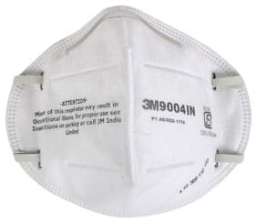 3M 9004IN Particulate Respirator Mask Anti Pollution - Pack of 25