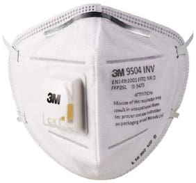 3M 9504 Inv N95 Respirator Mask Anti Pollution - Pack of 10