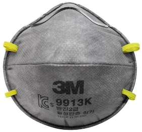 3M 9913 Disposable Anti Pollution Respirator Mask - Pack of 10