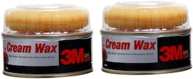 3M Car Care Cream Wax 220g (Pack of 2)