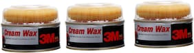 3M Car Care Cream Wax 220g (Pack of 3)