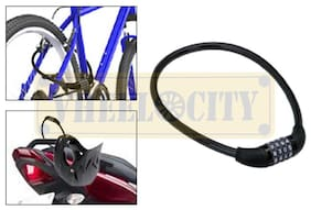 4 Digits Multipurpose Number Lock for Bikes / Helmets / Luggage