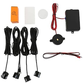 4 Sensors Car Auto Parking Sensor Kit Reversing Backup Radar Detector System