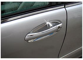 4Pcs/Set Universal Invisible Clear Car Door Handle Scratch Protector Film Sheet