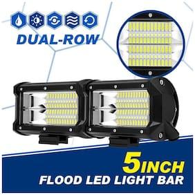 "5"" inch 288W LED Work Light Bar Flood Beam Driving Fog Lamp Pickup SUV ATV 4"" 6"""