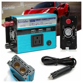 500W-1000W 12V to 110V Modified Sine Wave USB Power Inverter Invertor Converter