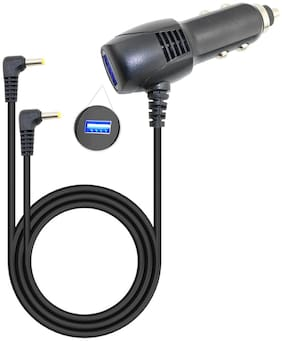 6.5 Ft Car Charger for Sykik SYDVD196 Dual Screen Dvd Player Auto Power Supply