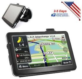 "7""in HD Touch Screen CAR TRUCK 4GB GPS Navigation Navigator SAT NAV Easy-Use USA"