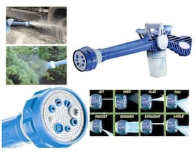 8 In 1 Turbo Water Cannon Spray Gun For Gardening, Car Wash, Home Cleaning