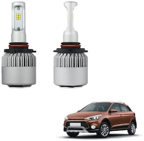 9006 + 9005 LED Headlight Combo for Low Beam and High Beam for Hyundai i20 Active Projected Headlamps