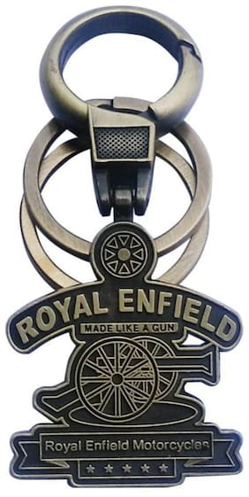 99DOTCOM Full Metal Royal Enfield Keychain