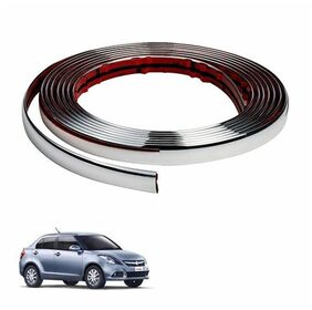 A2D 10 m Side Windows Chrome Beading Roll-Maruti Suzuki Swift DZire