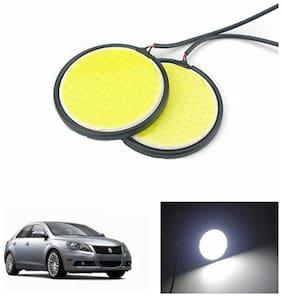 A2D 2.5inch Cobe White LED Lights Fog Light Car DRL Day Time Running Lights-Maruti Suzuki Kizashi