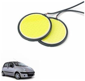 A2D 2.5inch Cobe White LED Lights Fog Light Car DRL Day Time Running Lights-Daewoo Matiz