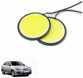 A2D 2.5inch Cobe White LED Lights Fog Light Car DRL Day Time Running Lights-Hyundai Verna Transform