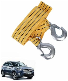 A2D 2 Ton Fiber Towing Cable With Tow Hooks-Hyundai Creta