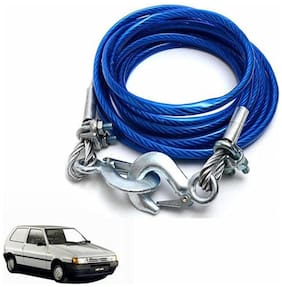 A2D 2 Ton Steel Towing Cable With Tow Hooks-Fiat Uno