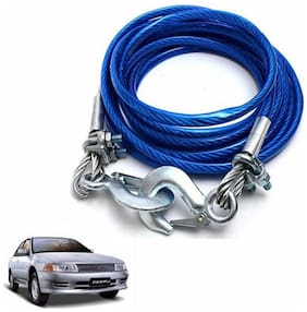 A2D 2 Ton Steel Towing Cable With Tow Hooks-Mitsubishi Lancer