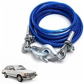 A2D 2 Ton Steel Towing Cable With Tow Hooks-Ford Escort