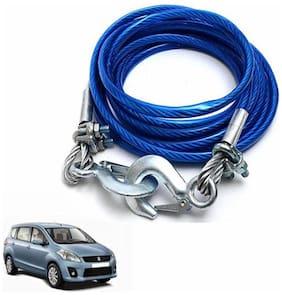 A2D 2 Ton Steel Towing Cable With Tow Hooks-Maruti Suzuki Ertiga