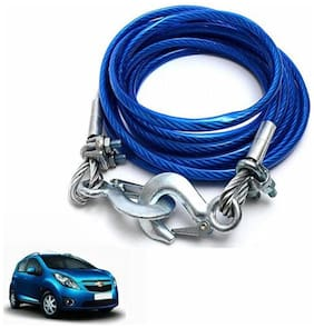 A2D 5 Ton Steel Towing Cable With Tow Hooks-Chevrolet Beat
