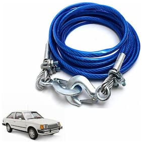 A2D 5 Ton Steel Towing Cable With Tow Hooks-Ford Escort