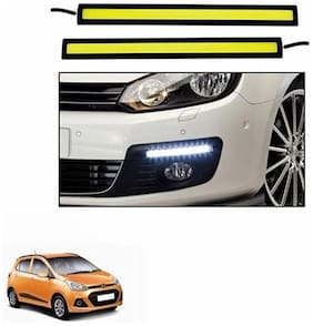 A2D 6000K White LED Lights Fog Light Car DRL Day Time Running Lights-Hyundai Grand i10
